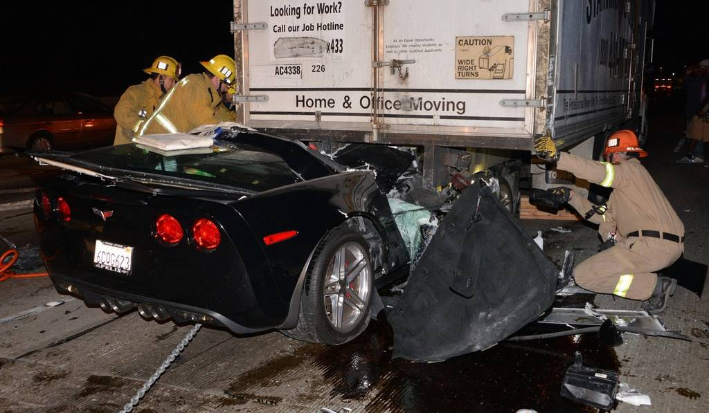 Car Crash: Driver Survives Horrific Corvette Z06 Accident - GTspirit