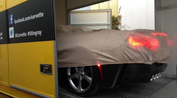 2014 Chevrolet Corvette Stingray Convertible Captured in the Wild