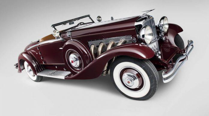 1935 Duesenberg Model SJ Convertible Coupe by Walker-LaGrande