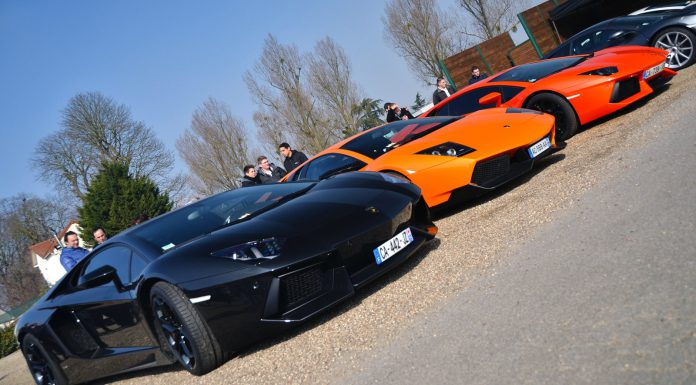 Photo Of The Day: Trio of Lamborghini's by Paul SKG Photography
