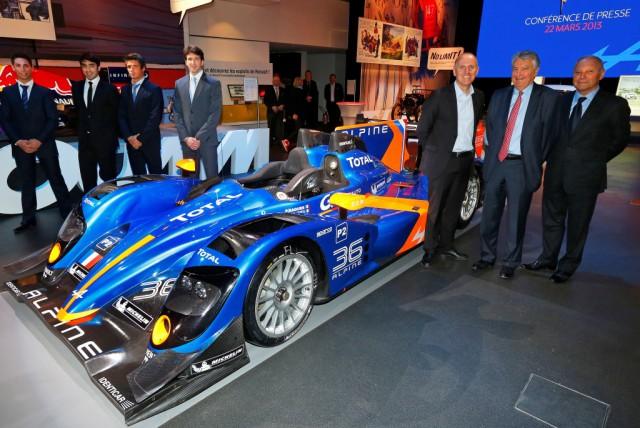 Official: 2013 Alpine N°36 Le Mans Racer
