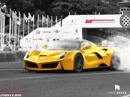 Render of Ferrari F150 by Wild Speed