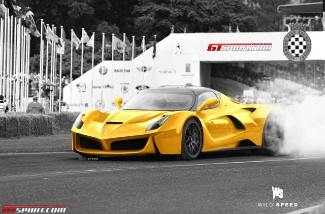 Ferrari LaFerrari F150 hybrido  F70yellow1-640x421