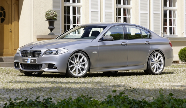 Official: Hartge Engine Conversion for BMW 550i xDrive F10