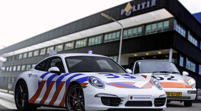 Porsche Centre Twente Porsche 911 4S in Police Livery