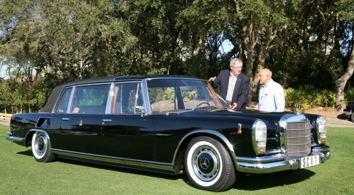 Sir Stirling Moss Returns at Amelia Island Concours d'Elegance