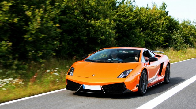 Drive in a Lamborghini Gallardo LP560 Around the Nurburgring