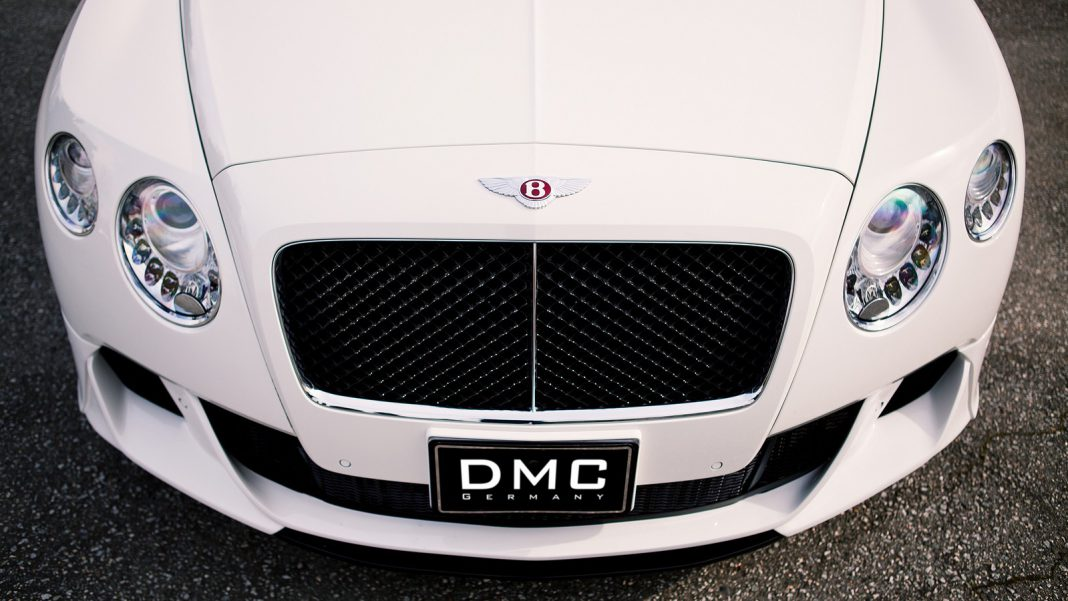 "DMC Teases Bentley Continental GTC ""Duro"""