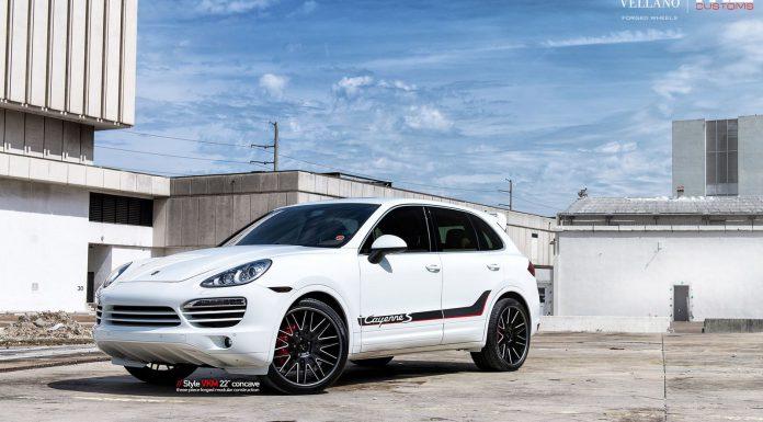 Porsche Cayenne S with 22 Inch Vellano Forged Wheels