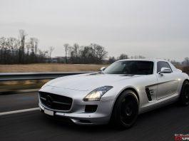 Mercedes-Benz SLS AMG Photoshoot