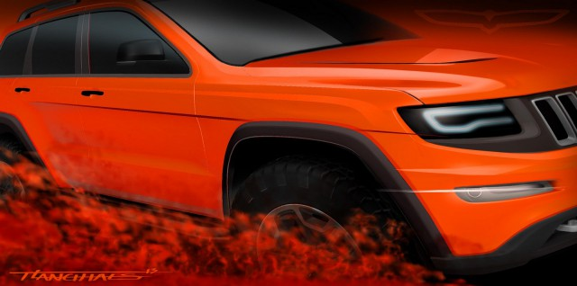 Mopar Jeep Grand Cherokee Trailhawk II