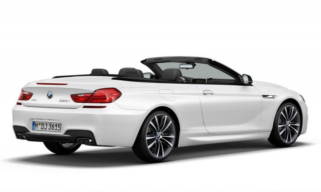 2014 BMW 6 Series Convertible Frozen Brilliant White Edition