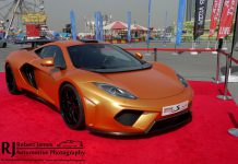 McLaren MP4-12C at Autotrader Live Show in Dubai