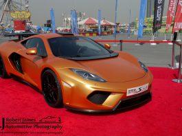 McLaren MP4-12C at Autotrader Live Show in Dubai