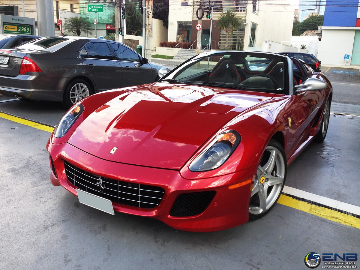 The Only Ferrari 599 Sa Aperta In Brazil Gtspirit