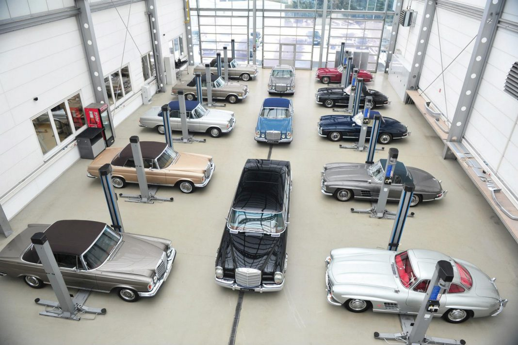 A Barrage of Classics In the Brabus Classic Workshop