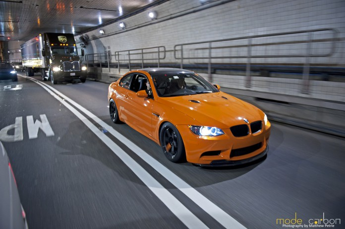 Lime Rock Edition BMW E92 M3 by Mode Carbon and Auto Couture