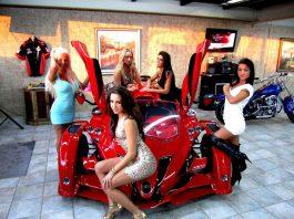 Car Girls of Anibal Automotive Design