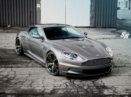 Space Gray Aston Martin DBS with PUR 9ine Wheels