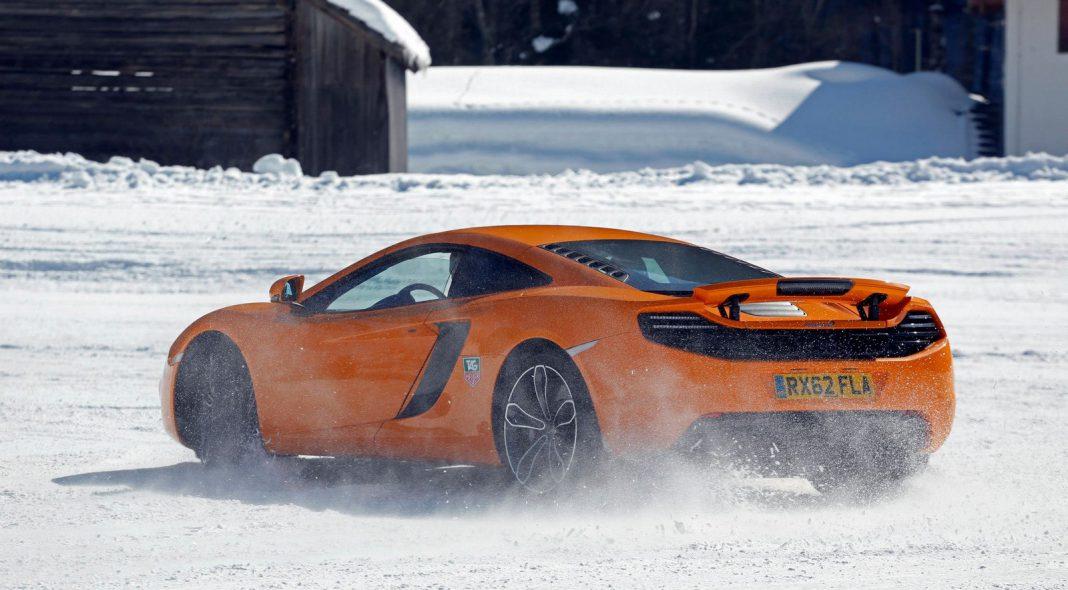Mclaren Snow Experience 2013