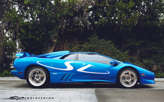 1998 Lamborghini Diablo SV Monterey Edition by SP Engineering