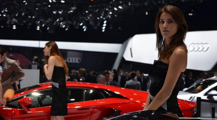 Girls at Geneva Motor Show 2013