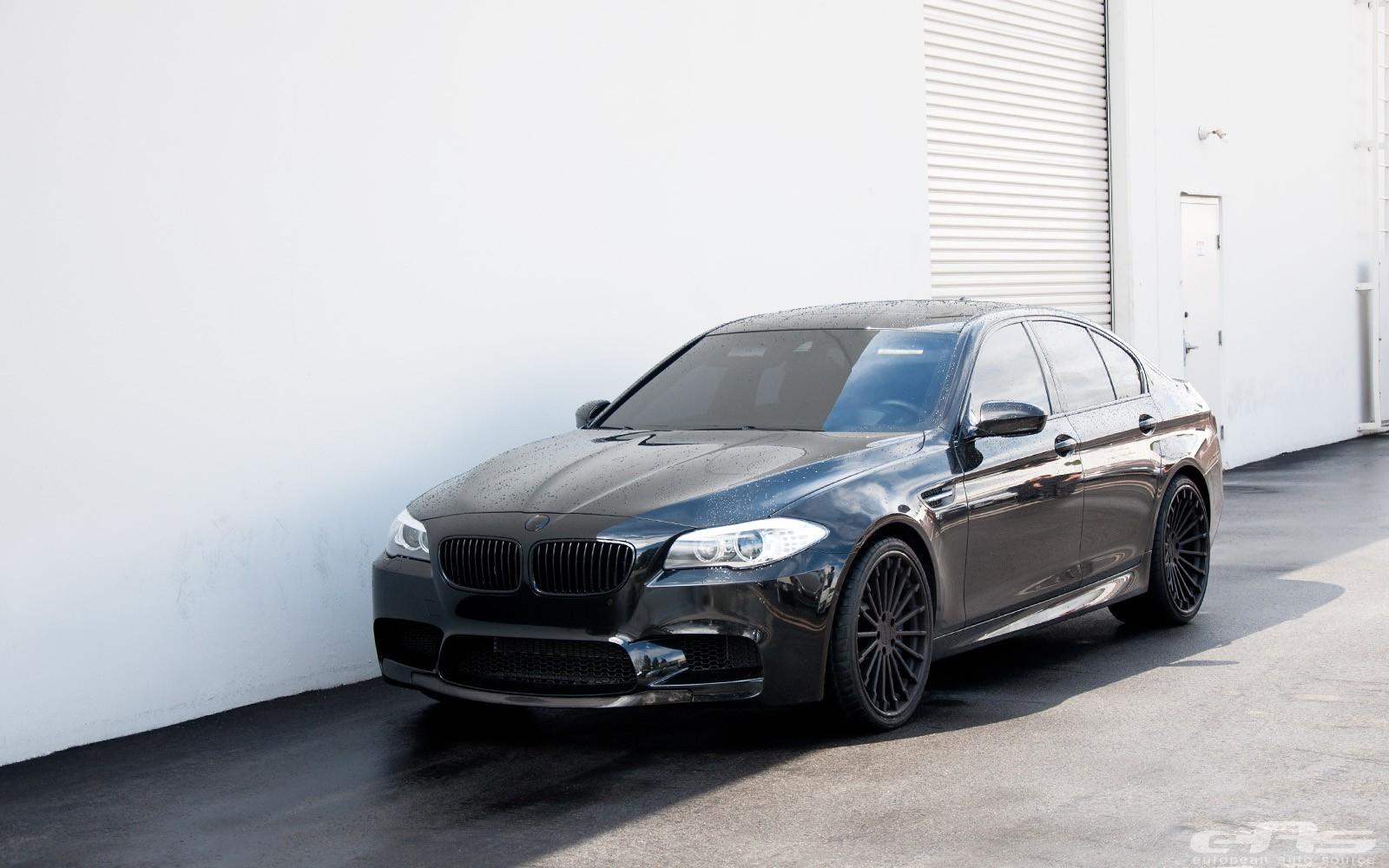 Sapphire Black BMW F M By European Auto Source GTspirit - All black bmw