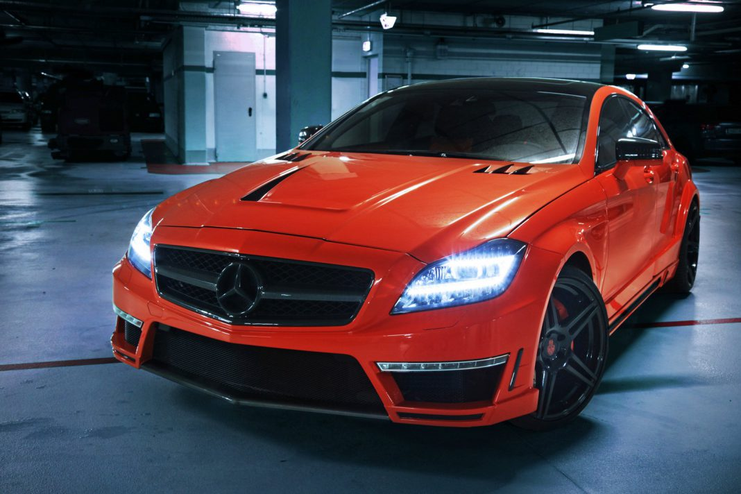Mercedes-Benz CLS 63 AMG Stealth by GSC