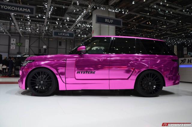 Hamann Mystere - Pink Range Rover