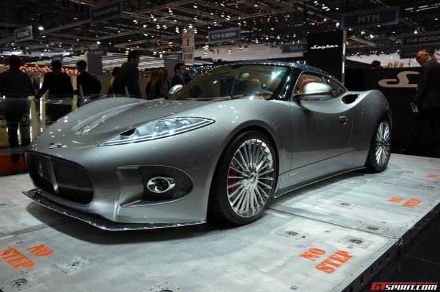 Spyker B6 Venator at Geneva Motor Show 2013