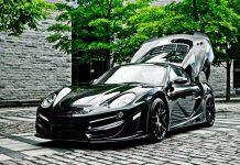 Porsche Cayman Rush