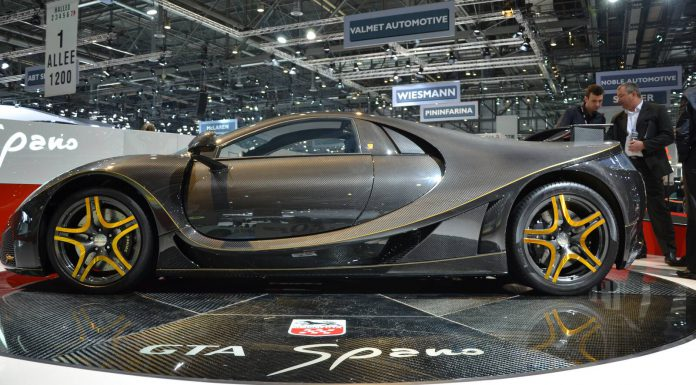 Full Carbon Fibre GTA Spano