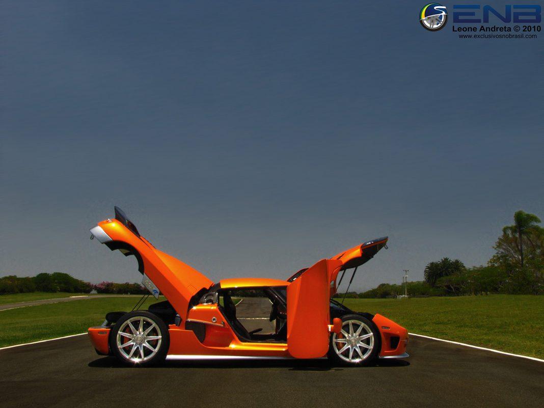 Orange Koenigsegg CCXR