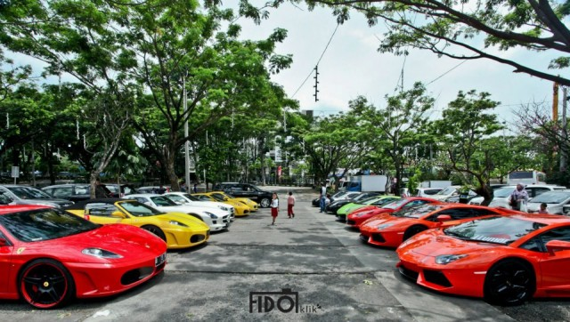 Super Car Club Indonesia Goes to Bandung