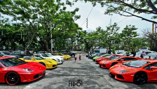 Super Car Club Indonesia Goes to Bandung