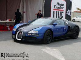 Bugatti Veyron at Autotrader Live Show in Dubai