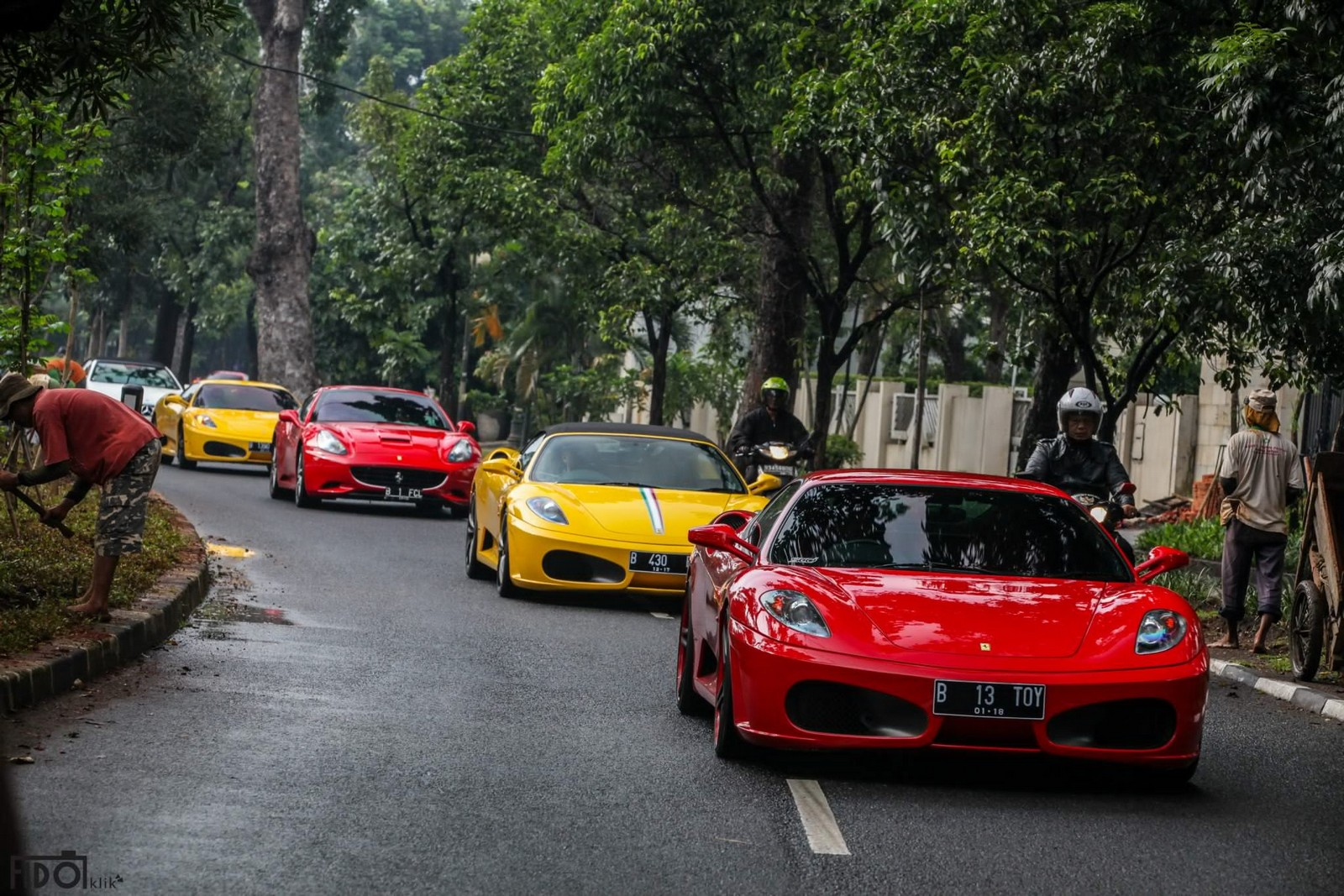 Gallery Supercar Club Of Indonesia Goes To Kamang Part Gtspirit