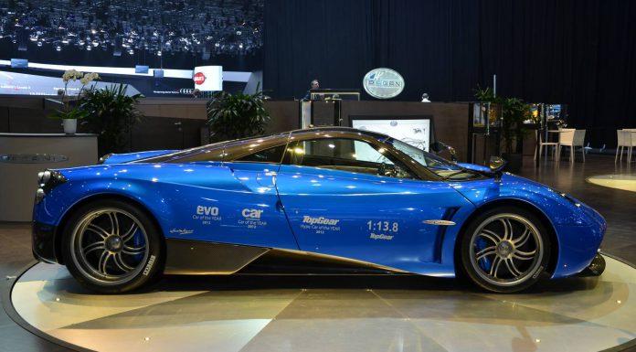 Pagani Huayra at Geneva Motor Show 2013