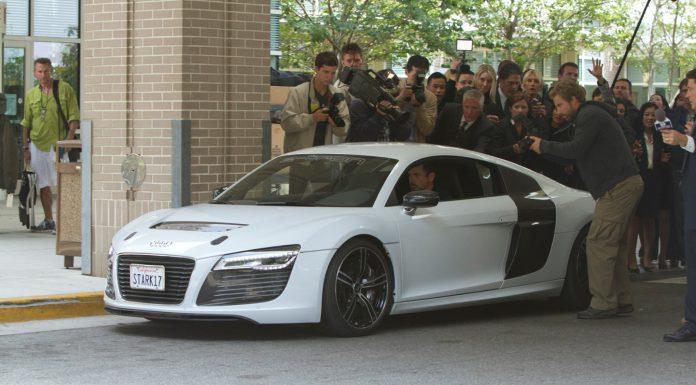 Iron Man 3 Audi R8 E-Tron