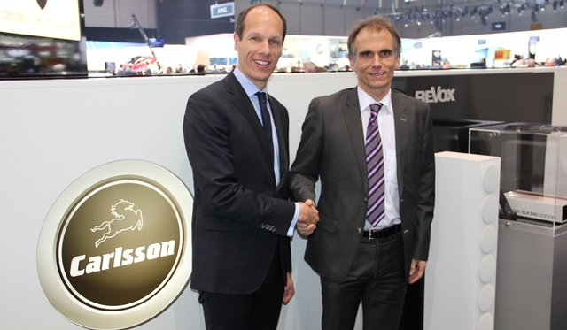 Official: Carlsson and Revox Sign Cooperation Agreement