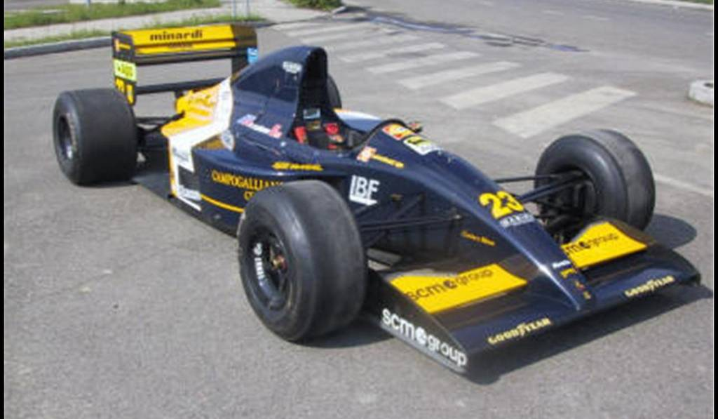 For Sale OneofThree LamborghiniPowered 1992 Minardi Formula