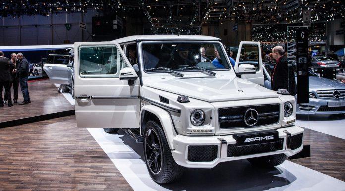 Mercedes Benz at Geneva 2013