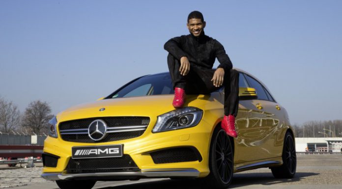 Mercedes-Benz Allows Usher to Help in SLS AMG Engine Build