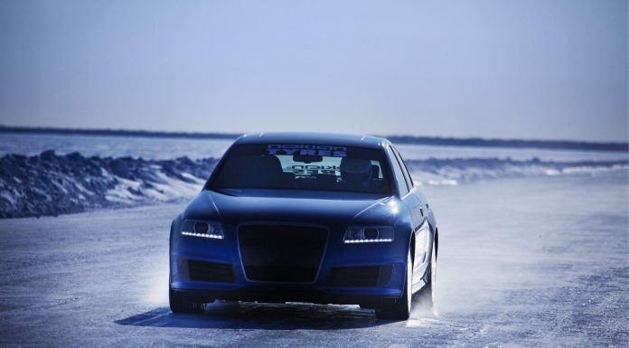 Nokian Tyres Sets New World Record on Ice with Audi RS6
