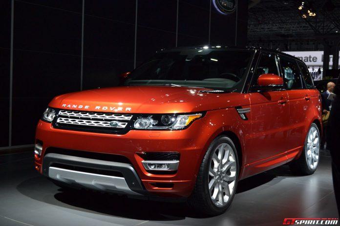 Range Rover Sport at New York