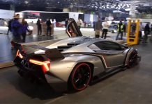 Video: Lamborghini Veneno Being Reversed From Geneva Motor Show 2013