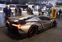 Video: Lamborghini Veneno Being Reversed From Geneva Motor Show 2013