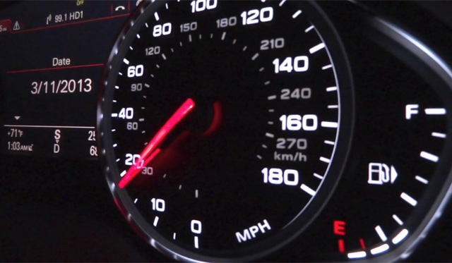 Video: Watch an Audi A8 hit 100km/h in Just 3.8 Seconds