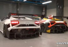Video: Lamborghini Gallardo Super Trofeo Racer Revving and Racing