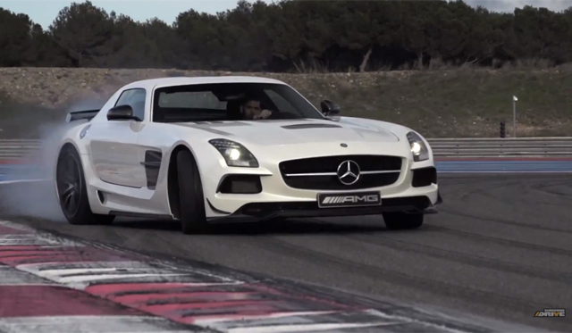 Video: Chris Harris Tests Mercedes-Benz SLS AMG Black Series